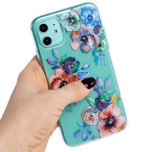 SWAROVSKI Crystals Floral Flowers iPhone 11 Case